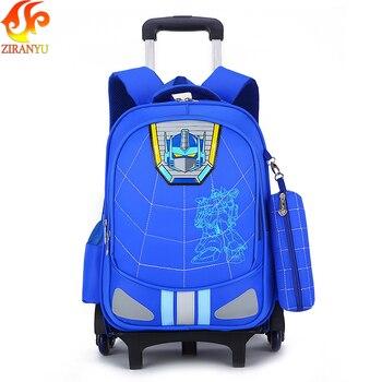 ZIRANYU Lever Bag Children Backpacks Primary School Bags For Students Super Light Kids Backpacks Waterproof Schoolbags mochila Kids & Baby Bags