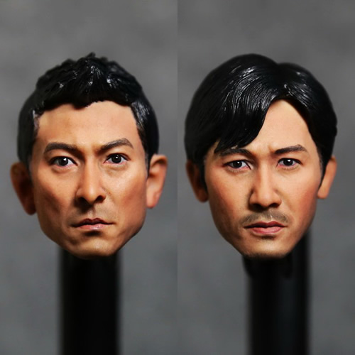 1:6 scale male Figure accessories Hong Kong star Tony Leung Chiu Wai or Andy Lau head shape carved for 12 Action figure doll тепловентилятор vitesse vs 863