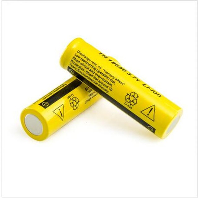 10PCS  18650 9800mAh Rechargeable Battery li ion Batteries Bateria Li-ion Lithium Battery for Flashlight
