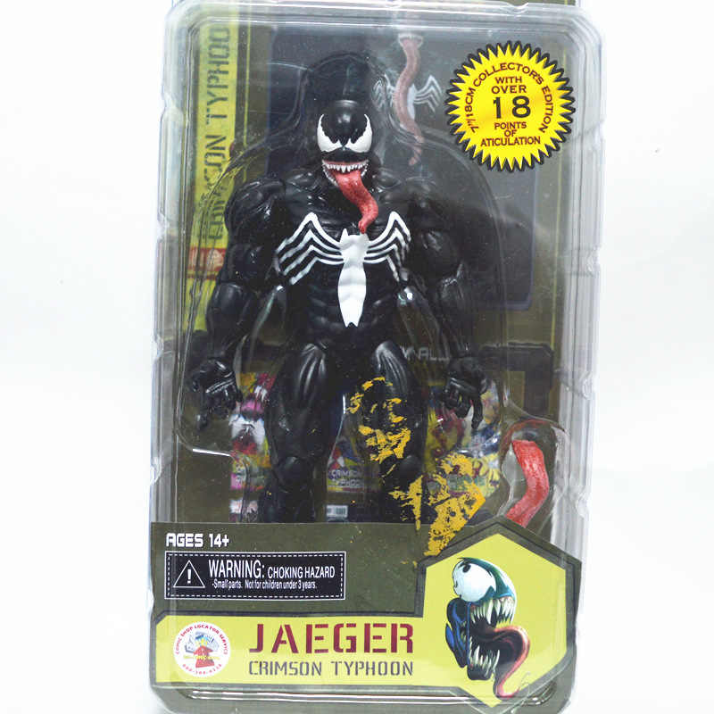 "NECA Marvel Legends Venom PVC Action Figure Collectible Modelo Toy 7 ""18 cm KT3137"