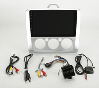 9 дюймов 4G ram Android 8,0 автомобильный dvd плеер gps навигационная радиосистема для Ford Focus 2005 2010 (ручной кондиционер) 3g Wifi