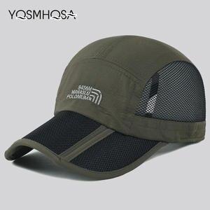 5115d22f3025f YQSMHQSA Black Summer Baseball Cap Sport Trucker Cap Mesh