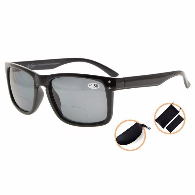 e93b242b43 S031PGSG Eyekepper Polycarbonate Polarized Bifocal Sunglasses Men Women  +150 +200 +250 +300