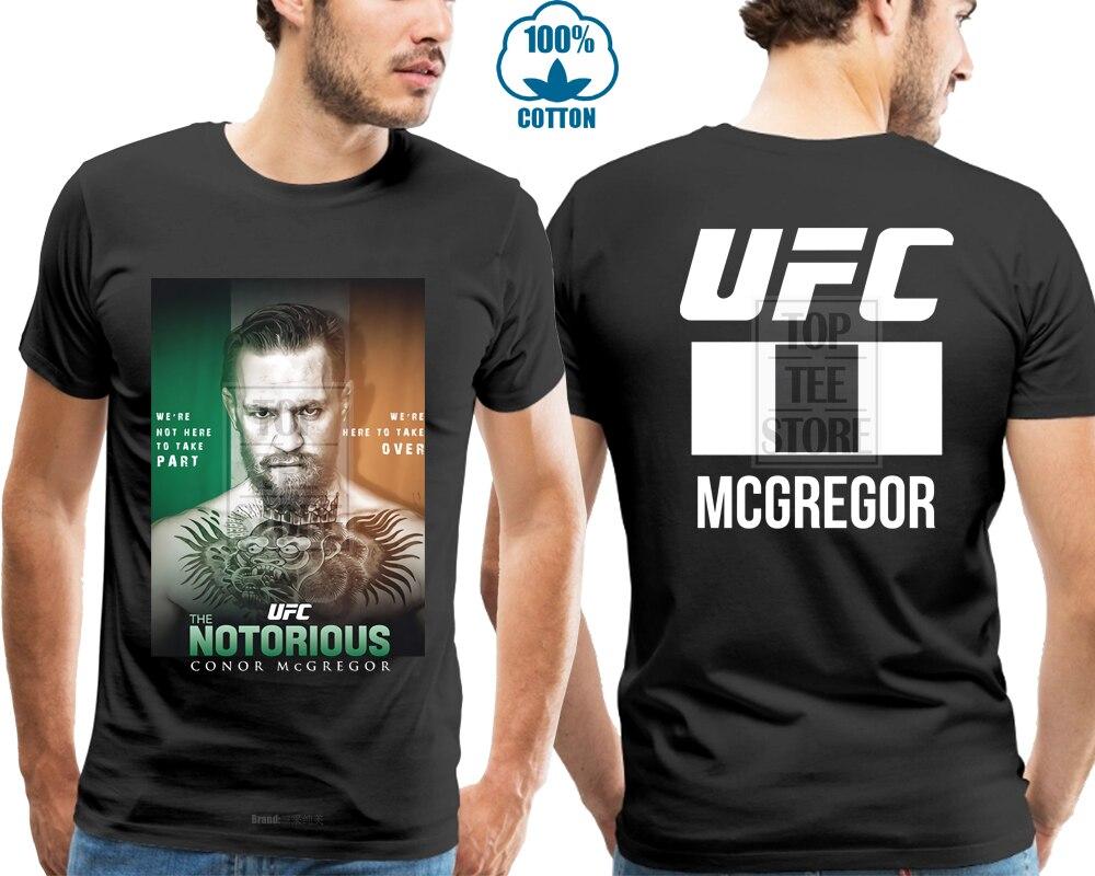 Connor Mcgregor Notorious Men'S Black T Shirt Size S M L Xl 4Xl
