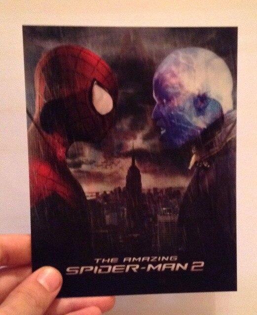 Amazing Spider Man 2 Card 3d Lenticular Flip Effect 3d Card In