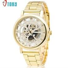 Ganador Nuevo Reloj Del Deporte de Diseño de Bisel Reloj de Oro Para Hombre Relojes de Primeras Marcas de Lujo Reloj de Los Hombres Relogio masculino Montre Homme #1123