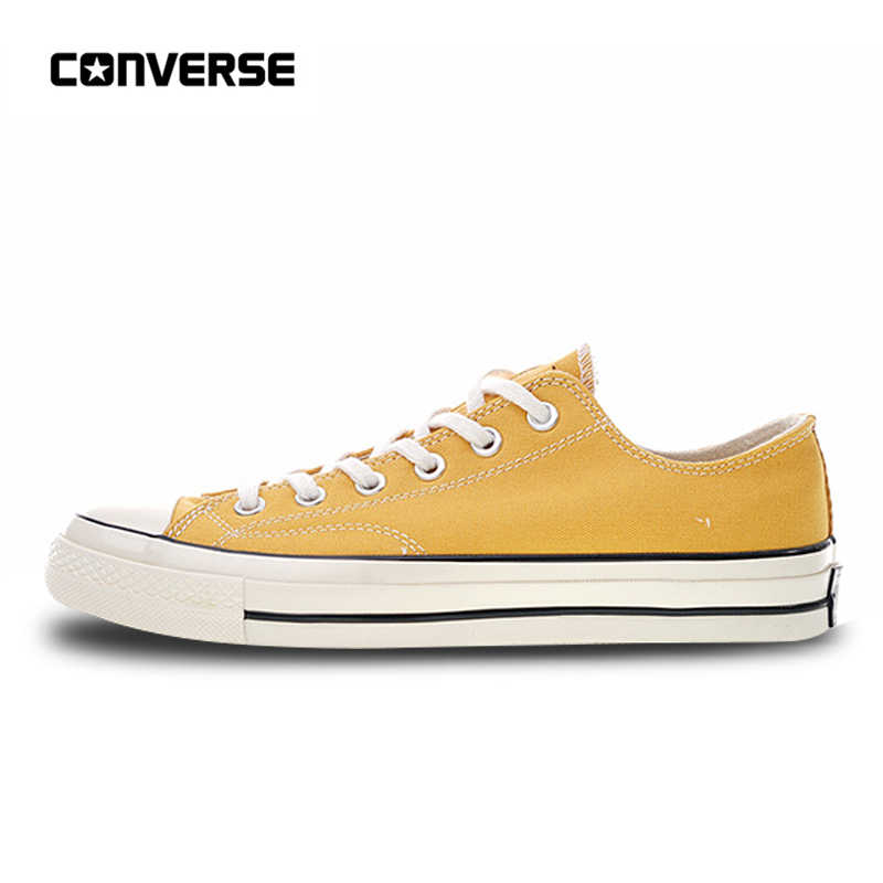 78955b9196b0 Authentic Converse All Star 1970s Classic Canvas Low Top Skateboarding Shoes  Unisex Anti-Slippery 162063C