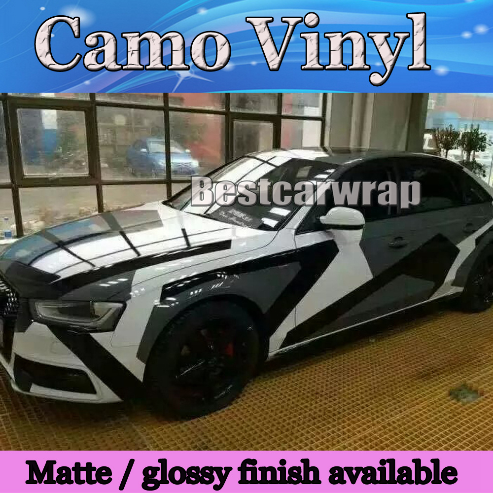2017 pixel camo vinyl black white grey car wrap sticker big arctic camouflage film car sticker air free 1 52x30m roll 5x98ft on aliexpress com alibaba