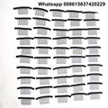 Cheapest Shipping 50 Pieces 7-teeth Black Color Wig Snap Combs Clips For Ponytail and Wigs Making