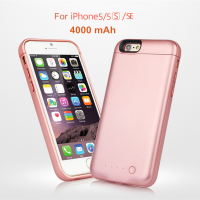 4000mAh Portable Power Bank Battery Case Charging External Battery Pack Backup Charger Case For IPhone 5