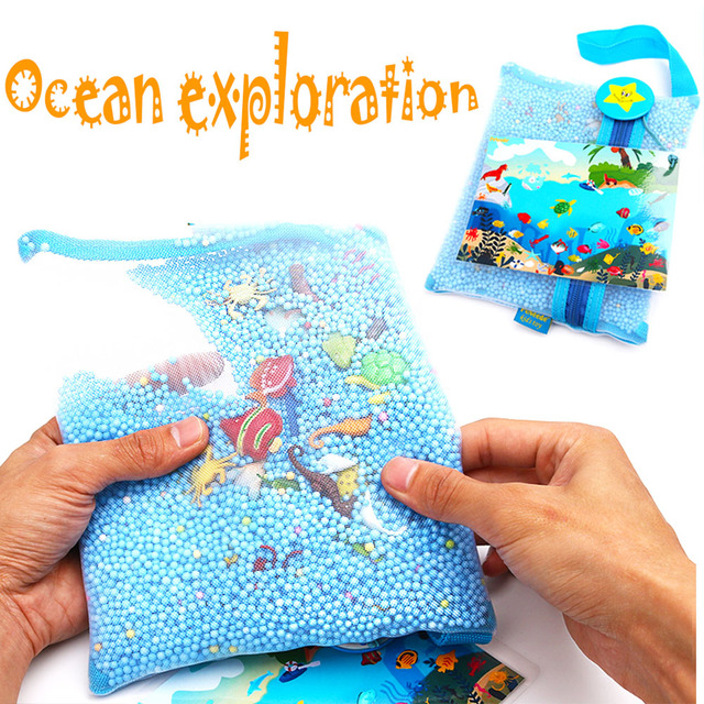 Baby Car Travel /Airplane Quiet Toy Christmas gift Ocean