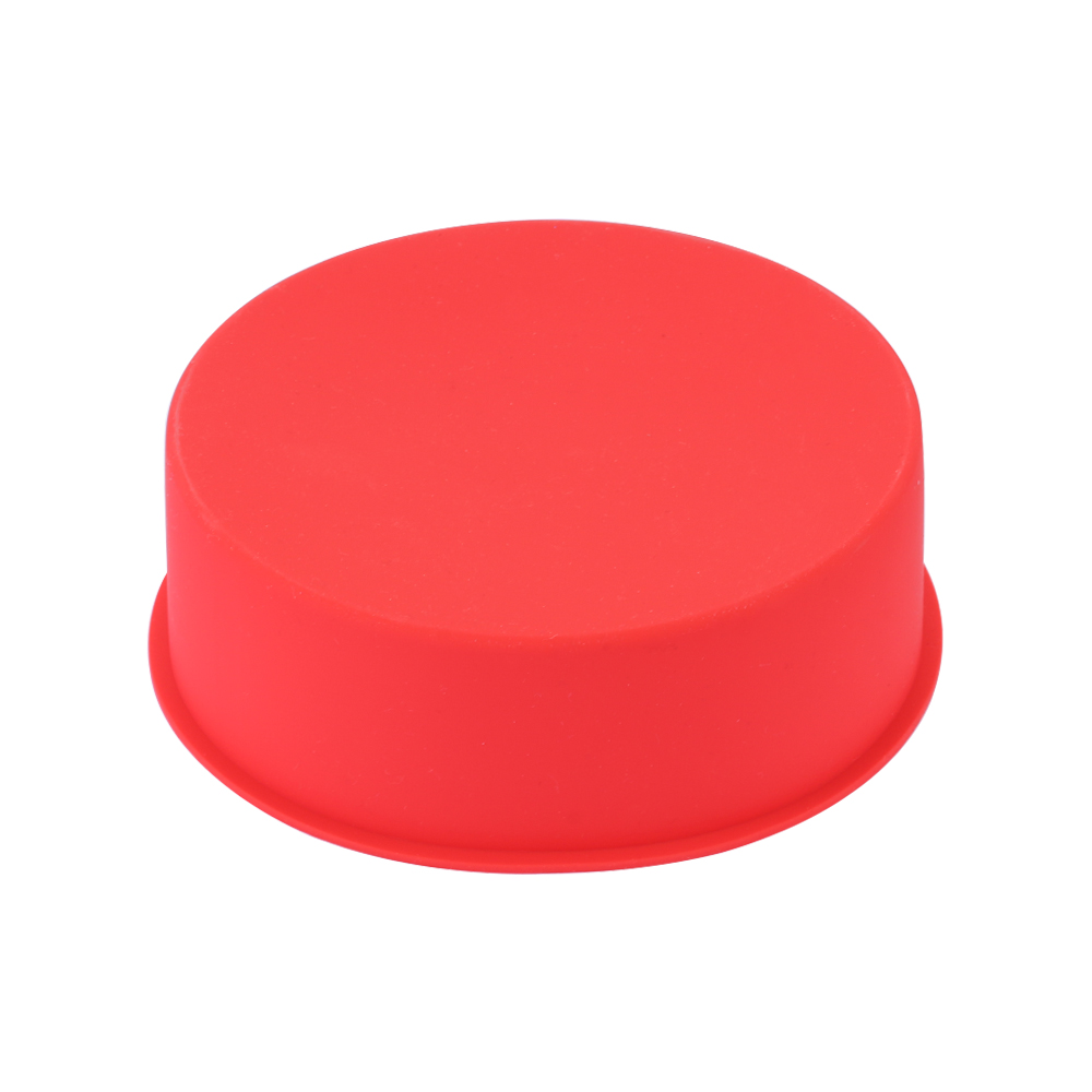 6inch Silicone Reusable and Non Stick Bakeware in Round Shape used for Cooking Confectionery Recipes with Decoration 3