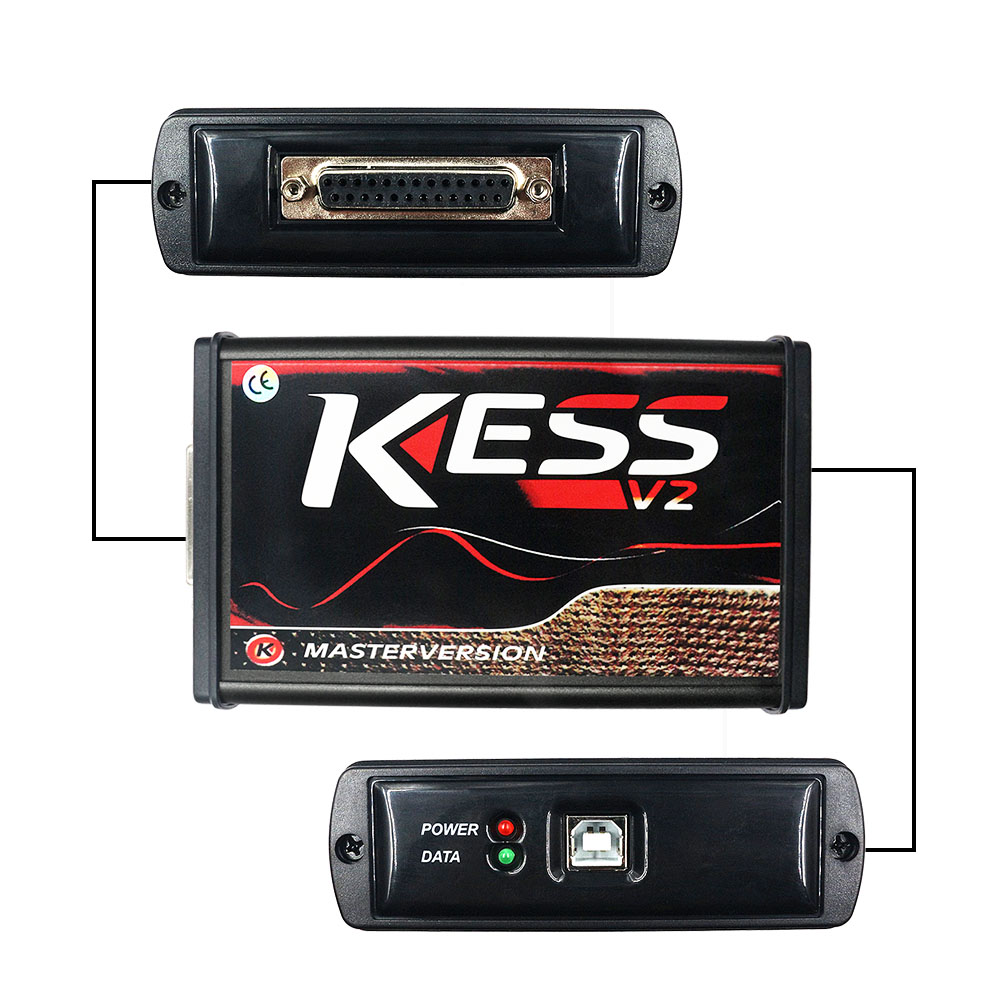 DHL KESS V2 Online 5,017 ECU Chip Tuning Tool KESS 2 V5.017 V2.47 Volle Set OBD2 Master ECU Programmierer Auto lkw Diagnose-Tool