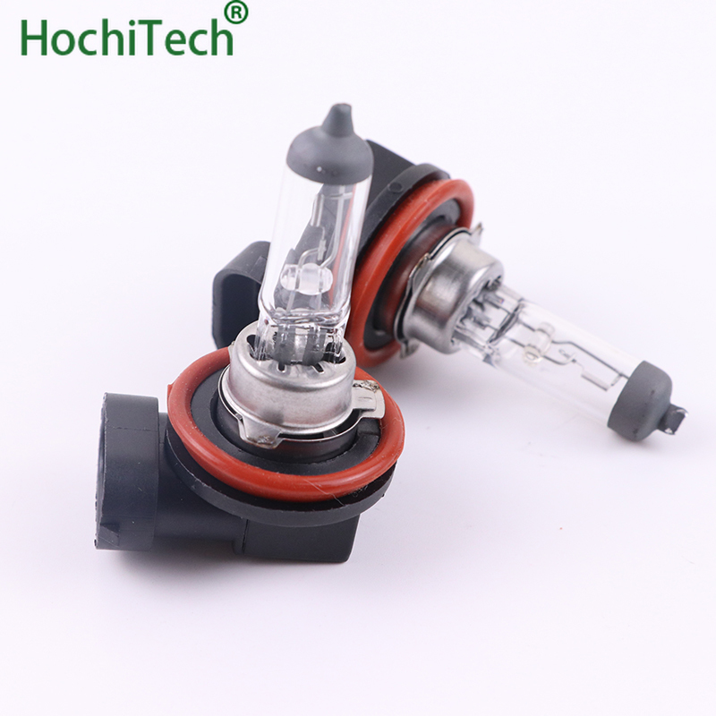 Top Quality H11 Light Halogen Lamp 4500K 12V 55W 3000Lm Xenon Warm White Quartz Glass Car HeadLight Replacement Bulb