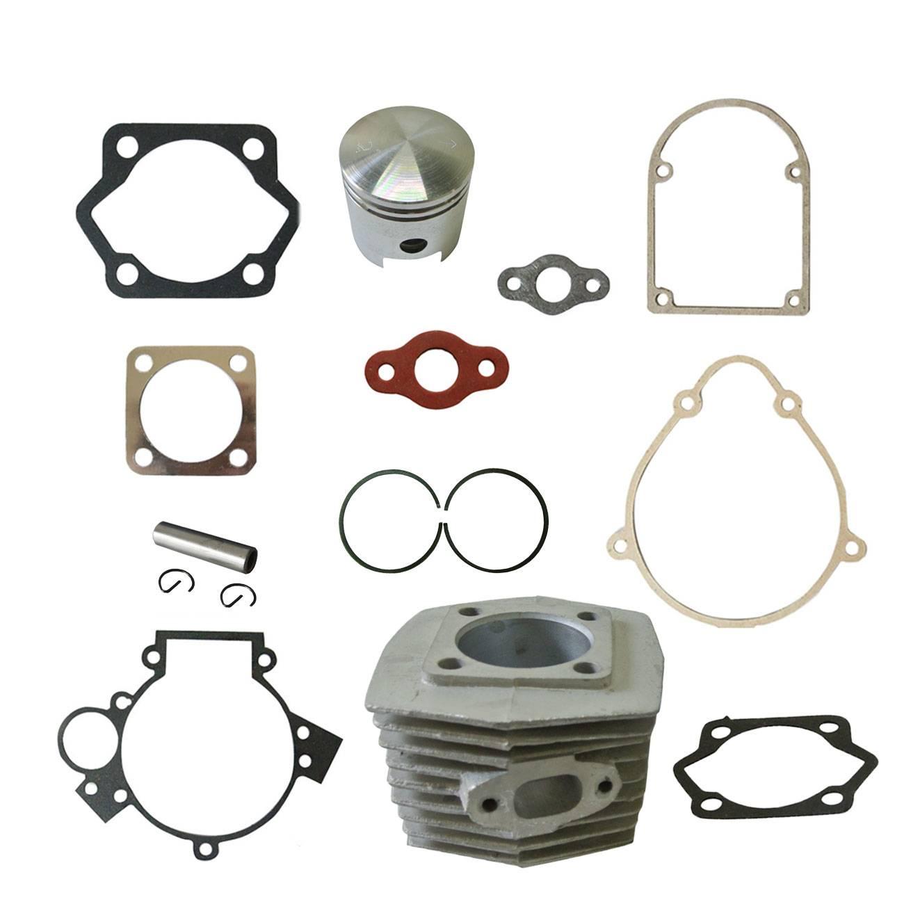 HURI 3set Cylinder Head Bottom Gasket for Motorized Bicycle Bike 49cc 60cc 66cc 80cc 2 Stroke Engine