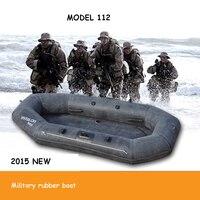 Военные резиновые надувные лодки байдарки лодка дрейфует лодка утолщенной твердой земле войска резина 2.2 м для 2 человек