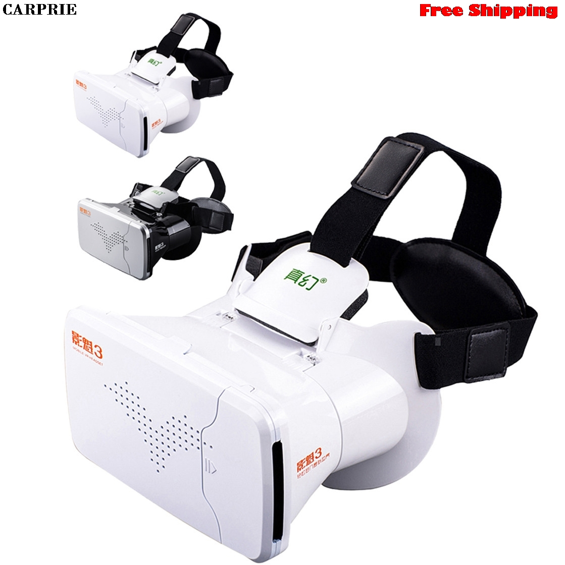 CARPRIE Google Cardboard for VR BOX Virtual Reality 3D Glasses For iPhone 8 Plus Free Shipping Drop Shipping