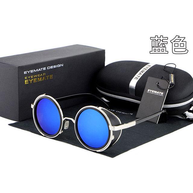 Reven S003 Moda Polarizada Óculos de Sol UV400 Alta Qualidade Rodada Óculos De Sol para Homem e Mulheres Sunwear