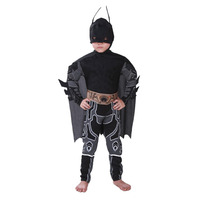 Costume 2018 Kids Deluxe Muscle Dark Knight Batman Child Halloween Party Fancy Dress Boys Superhero Carnival