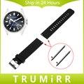 18mm 20mm 22mm das mulheres dos homens pulseira de borracha de silicone para citizen Faixa de Relógio de Pulso Strap Pulseira de Liberação rápida Preto Azul Cinza vermelho