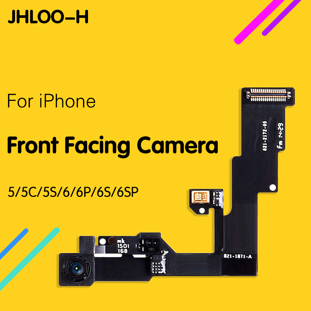 High Quality Front Camera Ring Holder For iPhone 5 5S 5C 6S 6 Plus Front Facing Camera Lens Right Proximity Sensor Flex Cable image