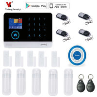 Yobang Security Remote Controller Touch Keypad Wireless Wifi GSM Alarm System 433MHz Home Burglar Security Alarm