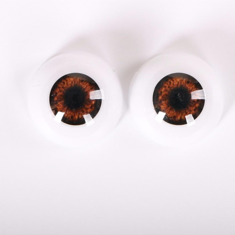 24 MM 1 pares de ojos de seguridad Arcylic Doll Eyeball ajuste para - Muñecas y accesorios - foto 5