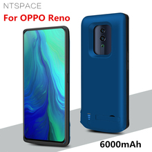 NTSPACE 6000mAh Portable Power Bank Charging Case For OPPO Reno Extenal Battery Charger Cases Powerbank Cover