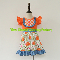 Boutique Girls Clothes Baby Girl Party Dress Hot Sale Lovely Summer Girl Dress