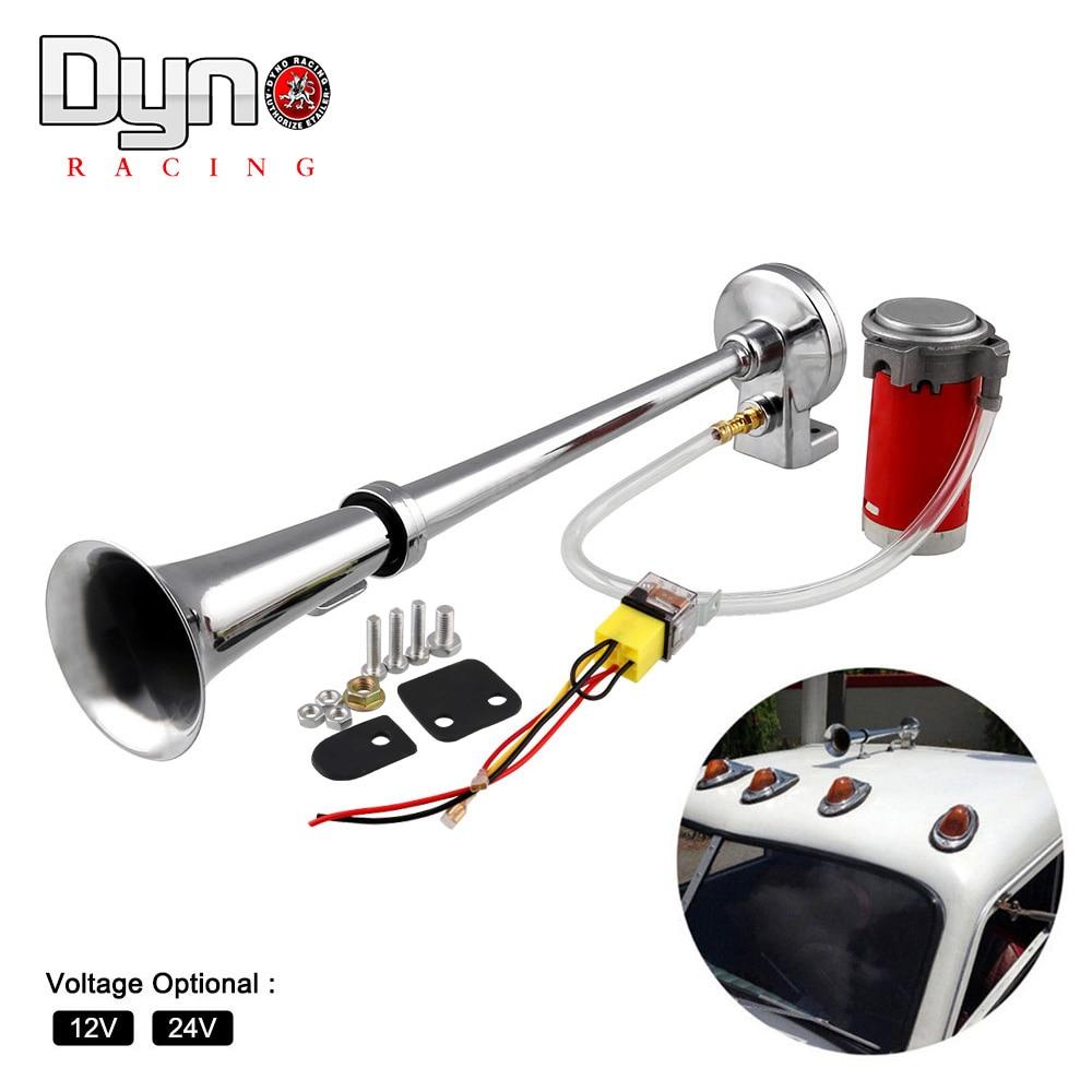 150DB Super Loud 12V/24V Single Trumpet Air Horn Compressor Car Lorry Boat Motorcycle AH015