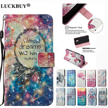 LUCKBUY 3D Designed Dream Catcher Case for iPhone X PU Leather For Apple iPhoneX Pattern Wallet Flip with Card Holder