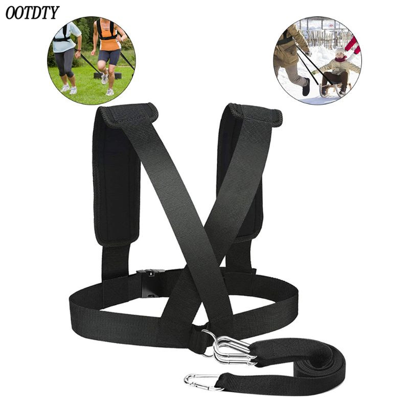 Anti-Resistance Training Belt Running Assist Speed Practice Pull Belt Sports Weight-Bearing Running Equipment Weighting Exercise