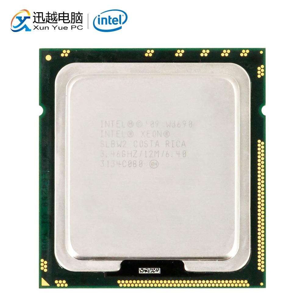 Intel Xeon W3690 Desktop Processor W3690 Six-Core  3.46GHz 12MB L3 Cache LGA 1366 Server Used CPU
