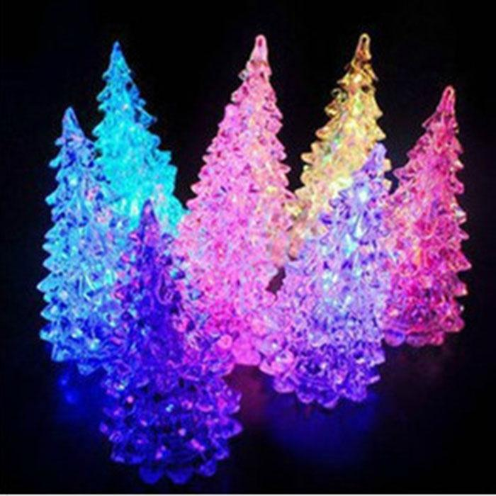 Christmas Tree With Led Changing Lights