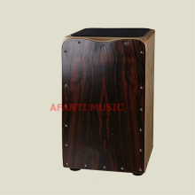Afanti Music Rosewood / Birch Wood / Natural Cajon Drum (KHG-160)