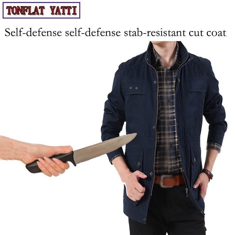 Autodefensa militar Anti-corte Delgado encubierta puñalada Fbi Swat Policial seguridad Tactical Gear Defensa Personal Clothing3colr