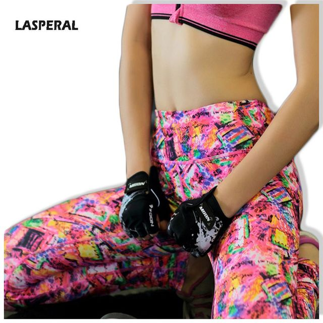 2016 Pants Women Leggins Workout Clothing For Women Legging Hight Waist Porinted Leggings Women Lasperal