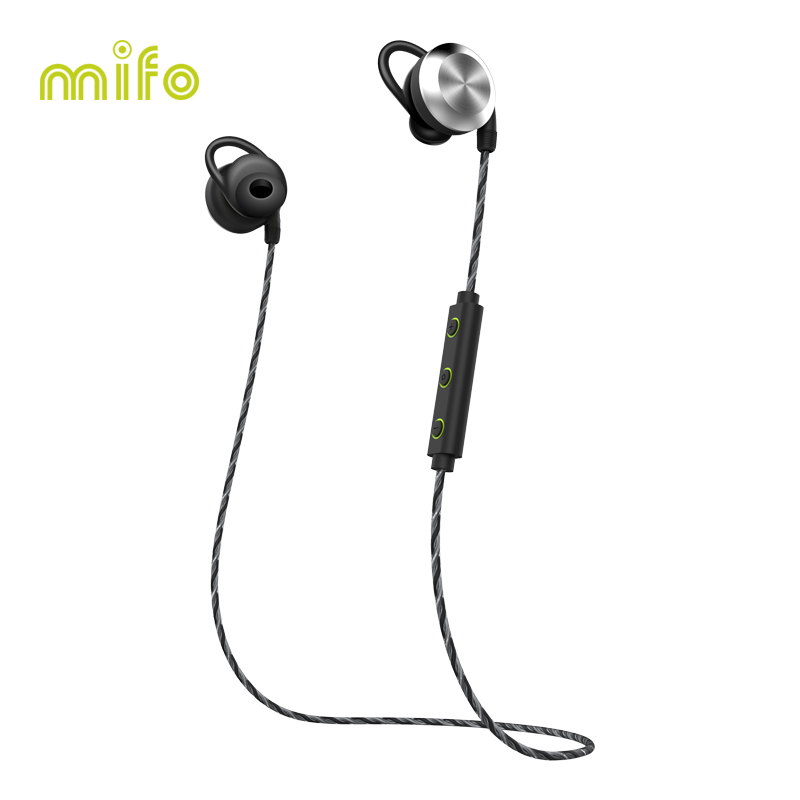 mifo U2 Magnet Sport Bluetooth headphone Wireless Bluetooth Earphone Waterproof Stereo Bluetooth Headset Earbuds For iphone 7 khp t6s bluetooth earphone headphone for iphone sony wireless headphone bluetooth headphones headset gaming cordless microphone