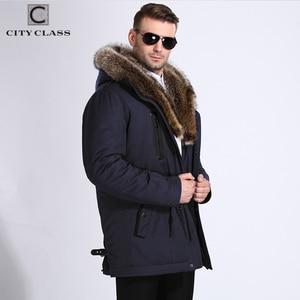 Image 5 - City Class Fur Winter Jackets Mens Super Warm Parkas Camel Hairs Filling with Raccoon Hood big fur winter coat thicken parka 839