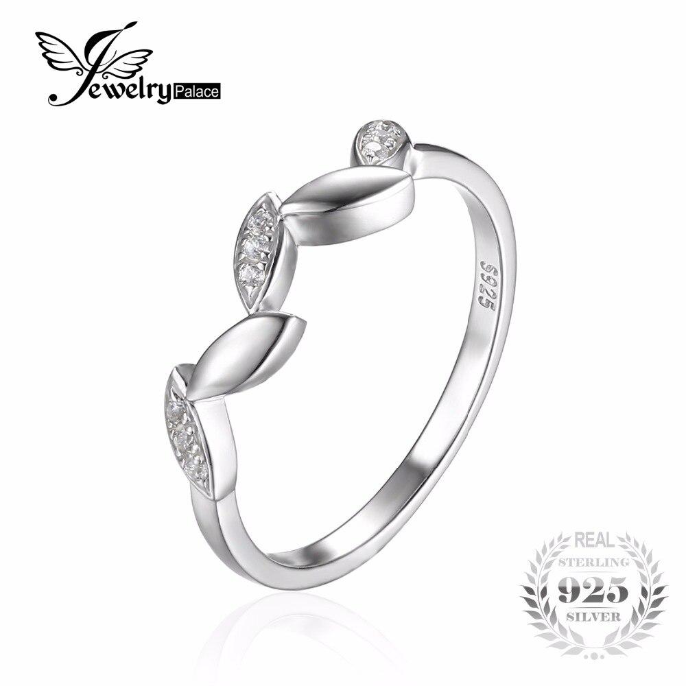Prix pour Jewelrypalace wedding band bague d'éternité pour les femmes réel 925 en argent sterling bijoux pour ami cadeau simple anneau