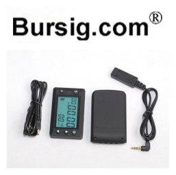 V4 Tela Grande Temporizador contador PC Download USB Receptor Transmissor Infravermelho Ultrared Lap Treinamento Da Motocicleta Pista de Corrida De Kart