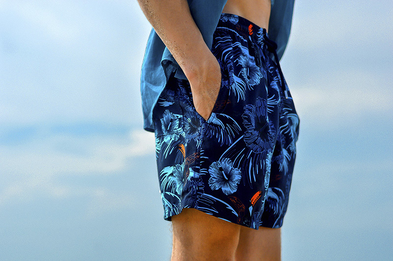 2015 new Vilebrequin mens Toucans Fastion brand swimwear swimming trunks Moorea male beach colourful shorts