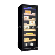 цены Constant Temperature And Humidity Single Door Cigar Cabinet Single Temperature Intelligent Display Cigar Cabinet 6 Level  20