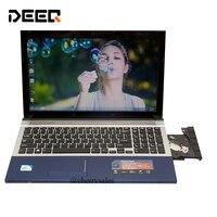 15,6 дюймов игровой ноутбук с DVD 8 ГБ DDR3 500 ГБ HDD intel Pentium или i7 Процессор веб камера Wi Fi HDMI