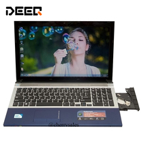 15 6 inch gaming laptop notebook computer Wtih DVD 8GB DDR3 500GB 128G SSD intel Pentium