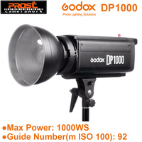 Godox DP1000 1000Ws 1000W GN92 Pro Photography Strobe Flash Studio Light Lamp Head