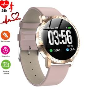 Image 1 - Montre bracelet pour hommes, moniteur de pression artérielle du sommeil, étanche, podomètre, calories, sport, téléphone Android, luxe, montre pour femme