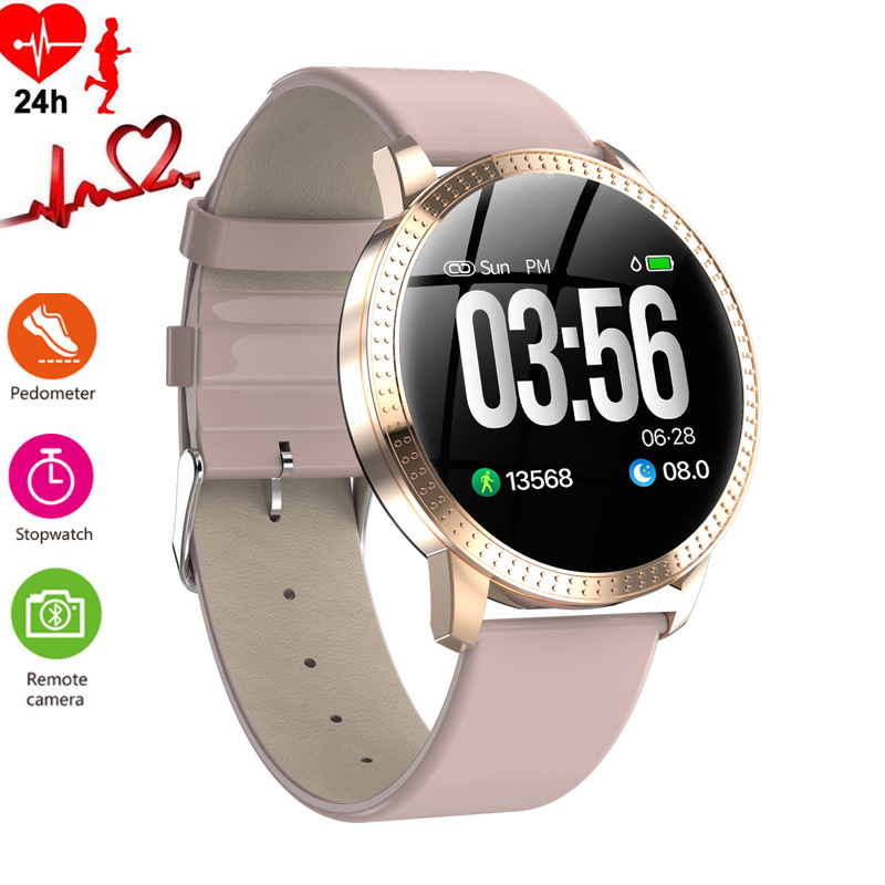 Women's Watch Luxury Sleep Blood Pressure Monitor Smart Watches Men Waterproof Pedometer Calorie Sports Wristwatch Phone Android