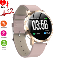 Womens Watch Luxury Sleep Blood Pressure Monitor Smart Watches Men Waterproof Pedometer Calorie Sports Wristwatch Phone Android
