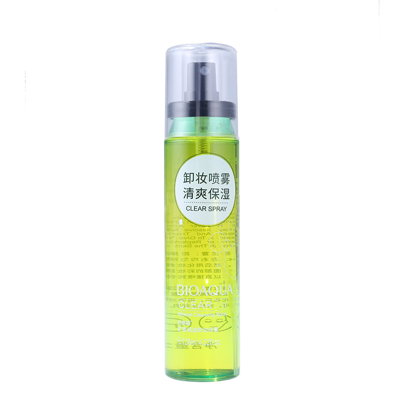 120ml Mineral Water Cleansing Makeup Remover Spray Deep Cleansing Water Oil-control Mineral Spring Replenishment Moisturizing